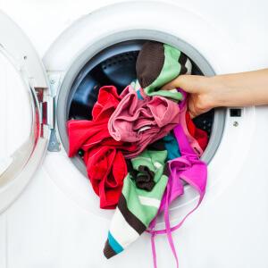 sportkleding wassen hygienisch
