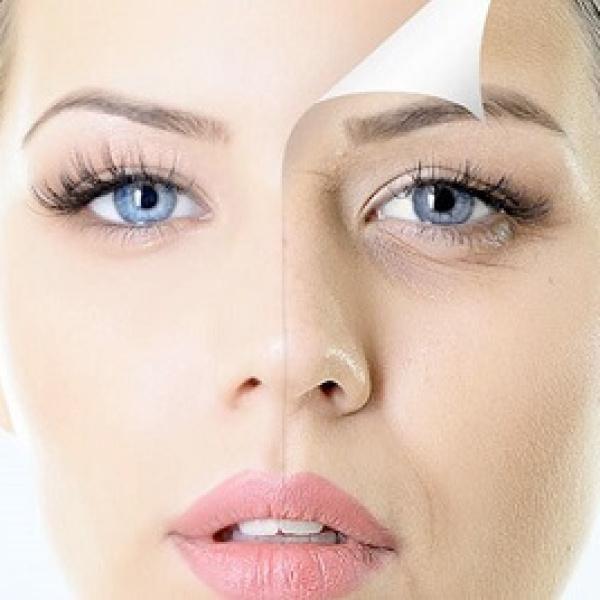 tegen huid veroudering