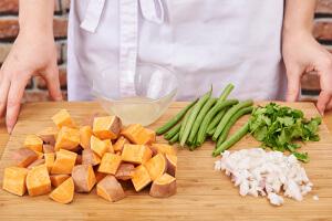 ingredienten voorbereiden