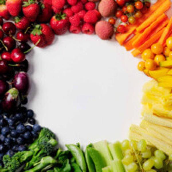 kleur kleuren voeding