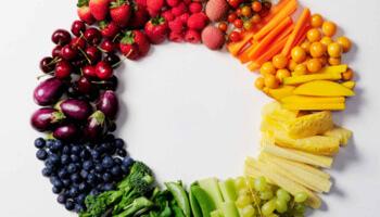 kleur kleuren voeding tijdnood