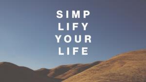 versimpel je leven