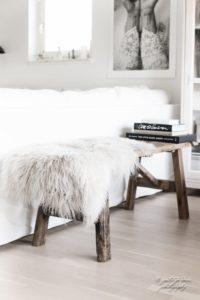Winter accessoires interieur