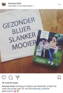 Instagram fotoverslag boeklancering