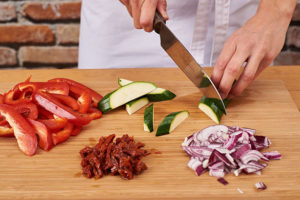groenten voorbereiden