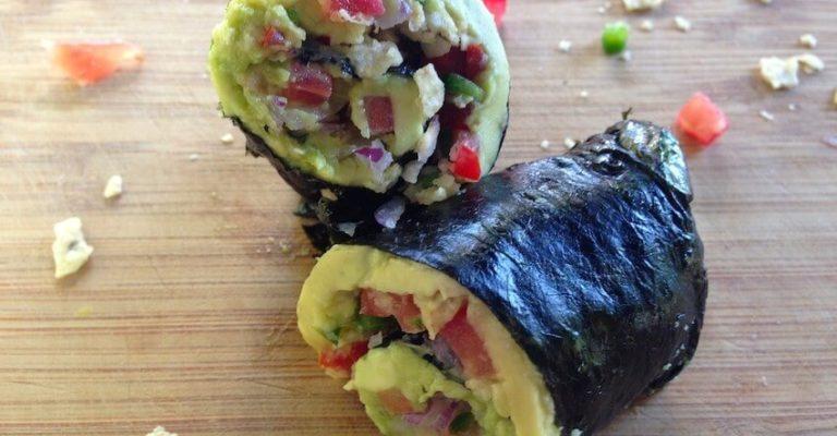 guacamole Nori rolls