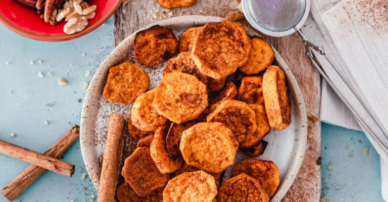 zoete aardappelchips