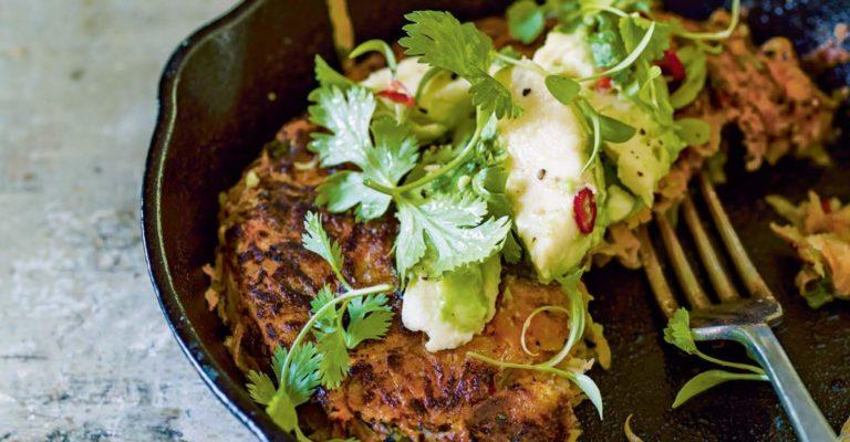 Zoete aardappelkoekjes