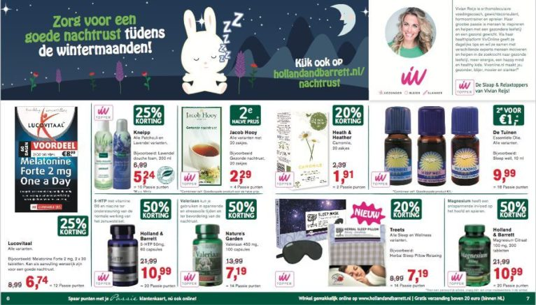 slaap samenwerking holland&barrett