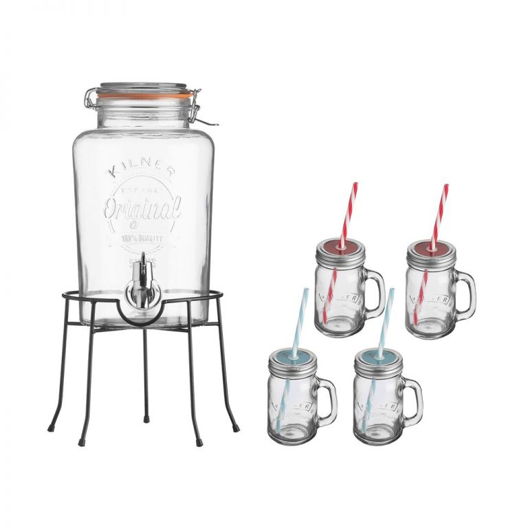 Dranken dispenser set - Viv Online