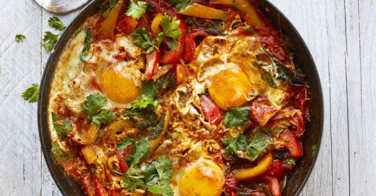 recept gezonder met viv: shakshuka