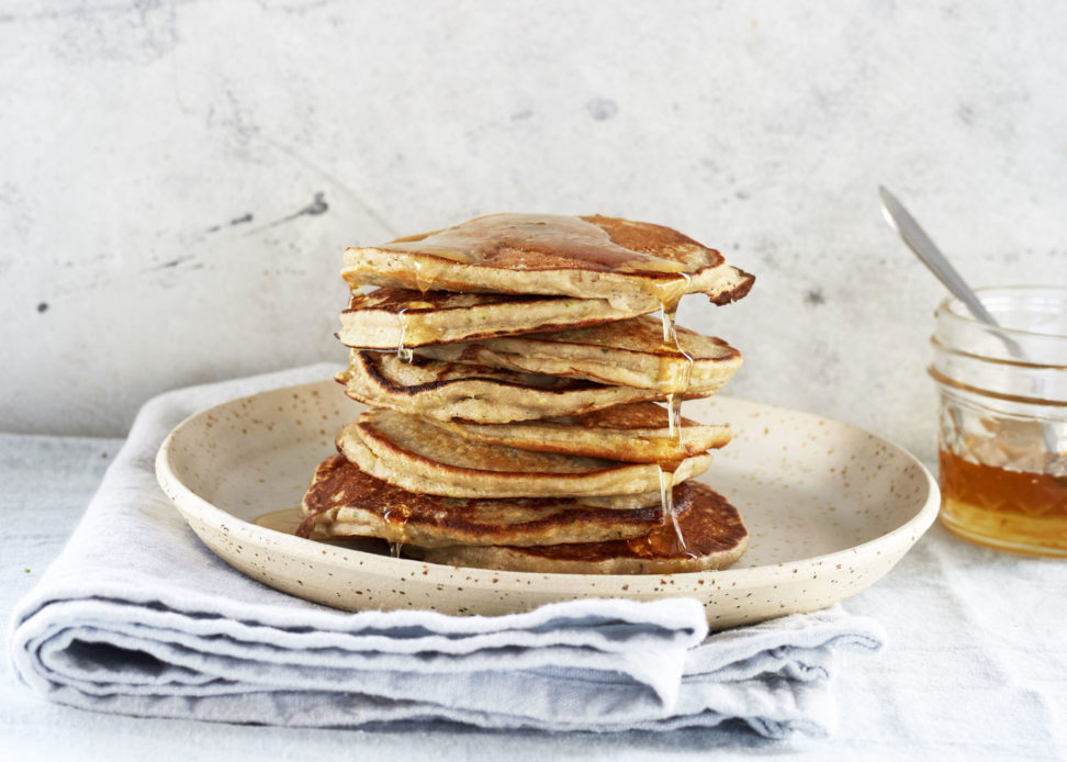 Recept Courgette-Banaan pannenkoekjes